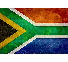 National flag of the Republic of South Africa Photographic Print
