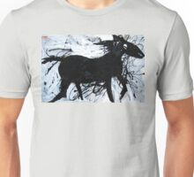 Black Horse 12 Unisex T-Shirt