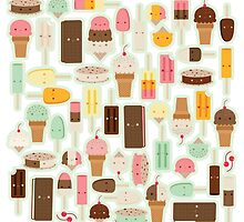Ice Cream Galore by gabdoesdesign