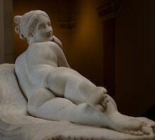 Reclining Naiad - National Gallery of Art by Matsumoto