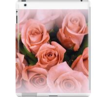 ROSES ~ A whisper of soft coral - pink iPad Case/Skin