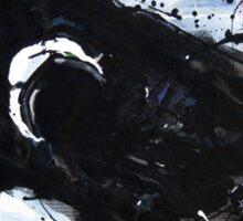 Black Horse 11 Sticker