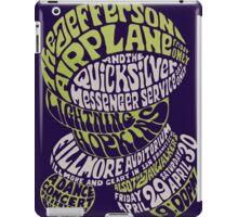 Fillmore: JEFFERSON AIRPLANE iPad Case/Skin
