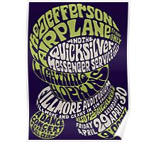 Fillmore: JEFFERSON AIRPLANE Poster