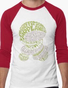 Fillmore: JEFFERSON AIRPLANE Men's Baseball ¾ T-Shirt