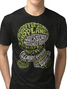 Fillmore: JEFFERSON AIRPLANE Tri-blend T-Shirt