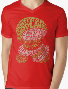 Fillmore: JEFFERSON AIRPLANE Mens V-Neck T-Shirt