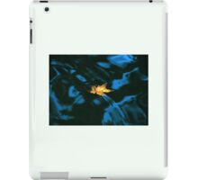Yellow Leaf, Blue Water iPad Case/Skin