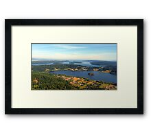 Lake Campbell Five Framed Print