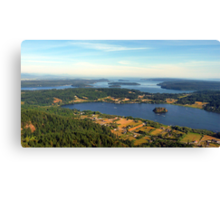 Lake Campbell Five Canvas Print