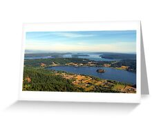 Lake Campbell Five Greeting Card