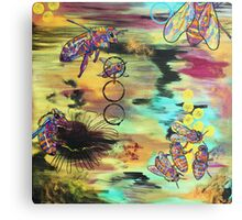 Spectra Gone by Asra Rae Canvas Print