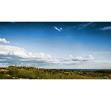 clouds and sea Photographic Print