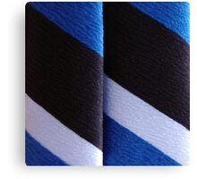 Blueblackwhite Canvas Print