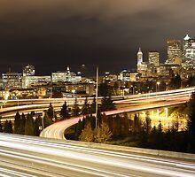 Seattle nights by Gavistaloch