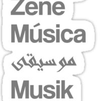 Music (10 languages) Sticker