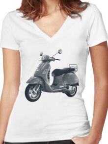 Scooter Women's Fitted V-Neck T-Shirt