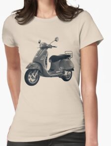 Scooter Womens Fitted T-Shirt