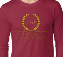 S.P.Q.R. Latin Long Sleeve T-Shirt