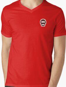 Retro Spy Mens V-Neck T-Shirt