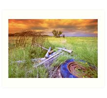 Stormy Day`s Art Print