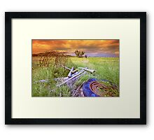 Stormy Day`s Framed Print