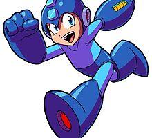 Megaman Running by Brian Farrar
