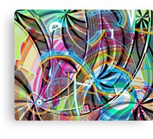 Random Inference Canvas Print