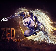 Zed, The master of shadow - League of Legends by MindxCrush