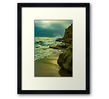 Solana Beach Dusk Framed Print