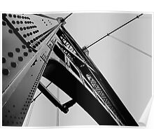 Lions Gate Bridge 1937 Poster