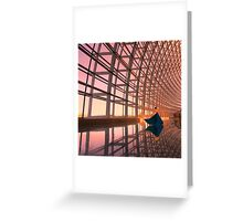 MODERN WALTZ Greeting Card