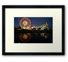 Del Mar Fair Framed Print