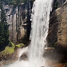 Vernal Falls of Yosemite National Park by Christopher Toumanian