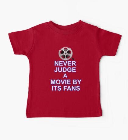 Never Judge A Film Baby Tee