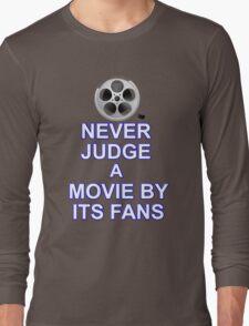 Never Judge A Film Long Sleeve T-Shirt