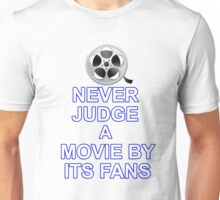 Never Judge A Film Unisex T-Shirt