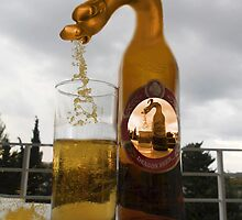 BROKEN GLASS SPILLED DRAGONS BEER PICTURE AND OR CARD by ✿✿ Bonita ✿✿ ђєℓℓσ