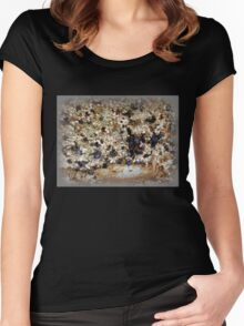 Mussely, Encrusty and Rusty Women's Fitted Scoop T-Shirt