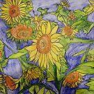 Sunflowers V by Alexandra Felgate