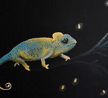 Little Dreamer-Chameleon by kikiokandii