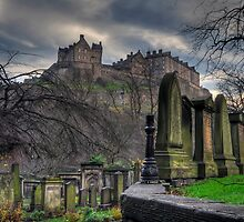 Graveyard Castle by JayHolt
