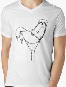 Sexy Sloth Mens V-Neck T-Shirt