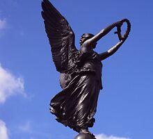 Victoria Park War Memorial by biddumy