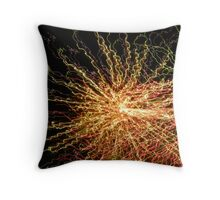 Burst of Color Throw Pillow
