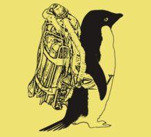 Jet Pack Penguin Kids Tee