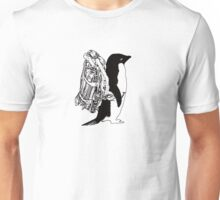 Jet Pack Penguin Unisex T-Shirt