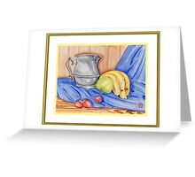 Fruit & Pitcher Greeting Card