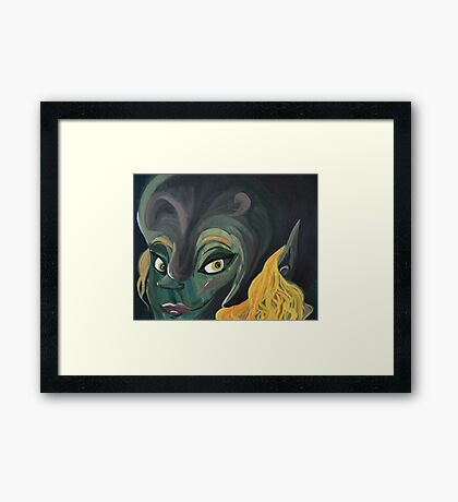 Forest Nymph Framed Print