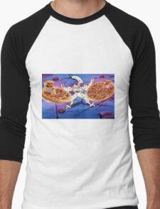Frieza Death Saucer/Pizza Men's Baseball ¾ T-Shirt